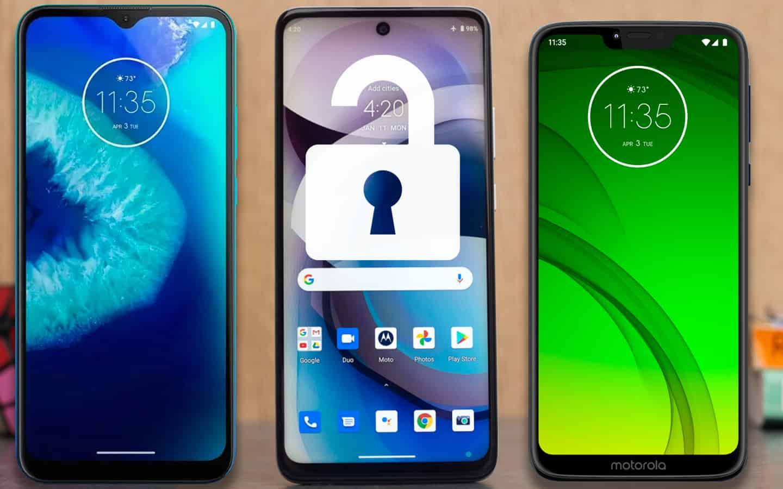 Unlock Motorola Phone
