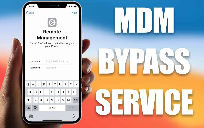 iphone mdm bypass