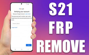 galaxy s21 frp removal service