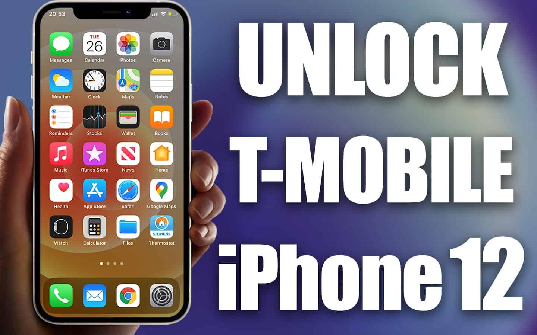 unlock t-mobile iphone 12