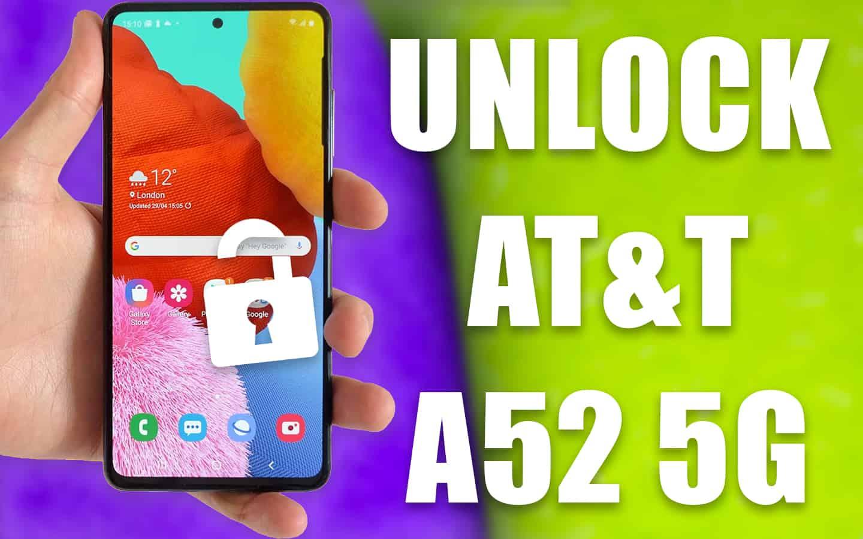 unlock at&t a52 5g