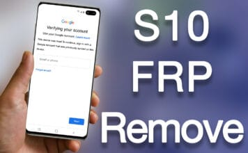 galaxy s10 frp removal service