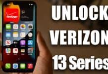 unlock verizon iphone 13