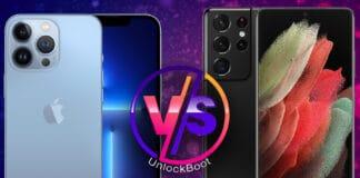 iphone 13 vs galaxy s21